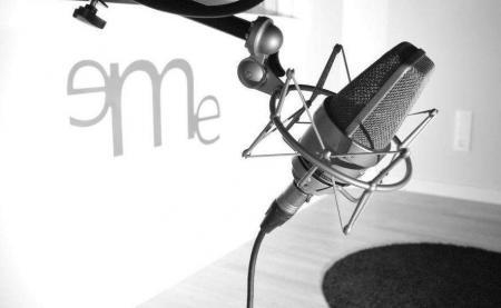 Estudio de grabación de eMe Audiovisuales 1